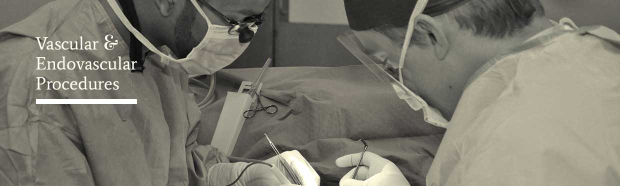 Photograph endovascular operation